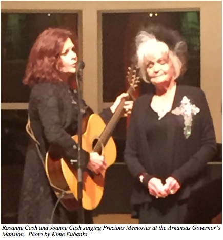 Rosanne and Joanne Cash caption
